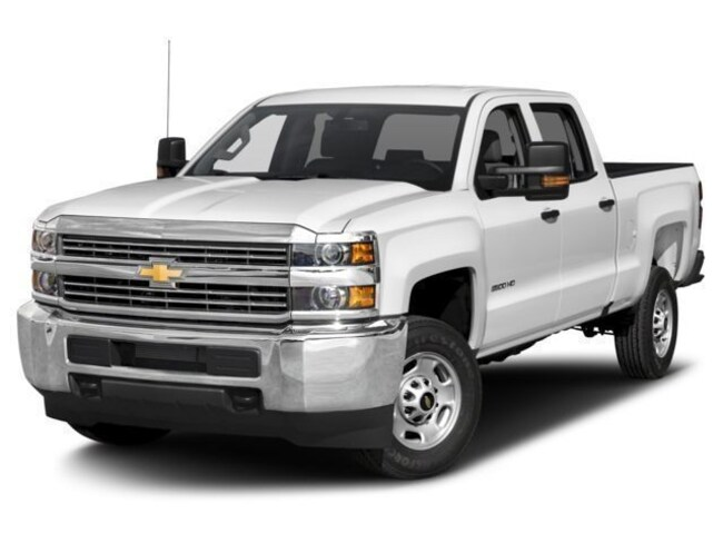 Used  2018 Chevrolet Silverado 2500HD WT Truck Crew Cab in Hettinger, ND