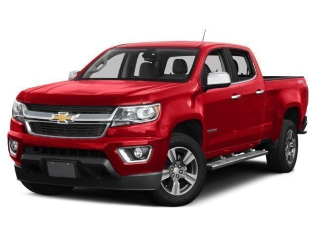Used 2018 Chevrolet Colorado LT Truck Crew Cab for sale in Gallipolis, OH
