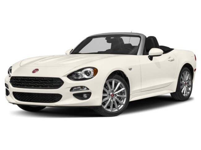 New 2018 FIAT 124 Spider LUSSO RED TOP EDITION Convertible for sale near San Diego, CA