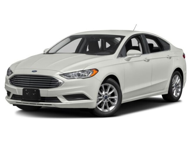 2018 Ford Fusion SE Mid-Size Car