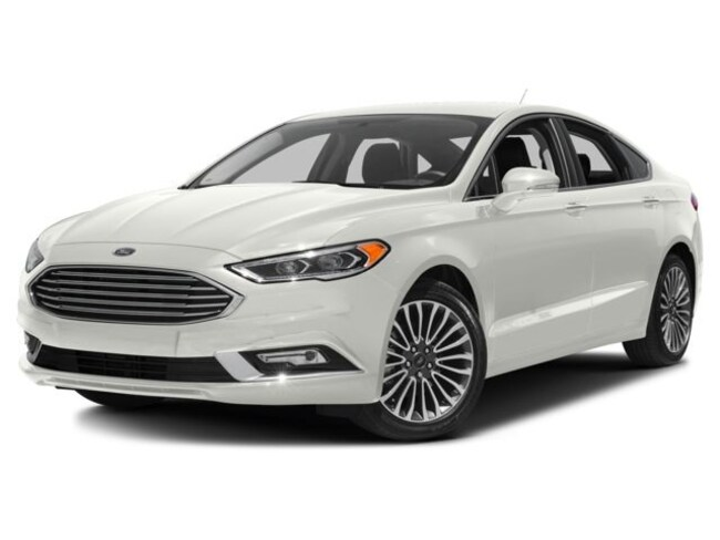 2018 Ford Fusion Titanium Sedan