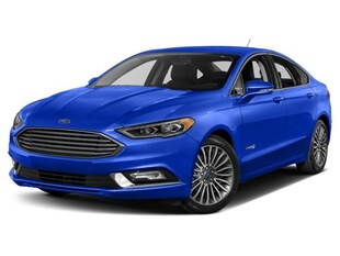 2018 Ford Fusion Hybrid Ttanm Sedan