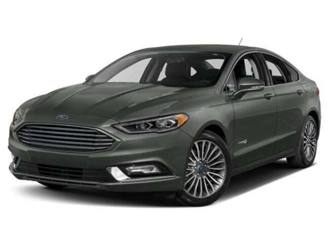 2018 Ford Fusion Hybrid Titanium FWD sedan For Sale in Louisville