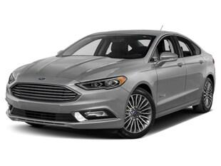2018 Ford Fusion Hybrid Hybrid Titanium Sedan