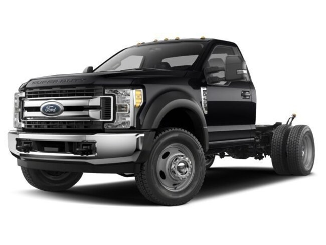2018 Ford F-550SD Cab/Chassis