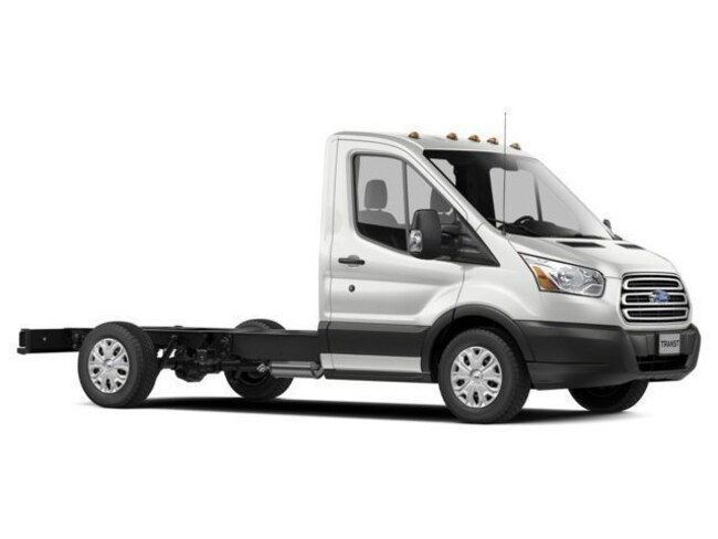 2018 Ford Transit-350 Cutaway Enclosed Service Utility Body Truck
