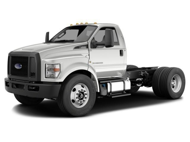 2018 Ford F-750 Diesel Base Truck Regular Cab