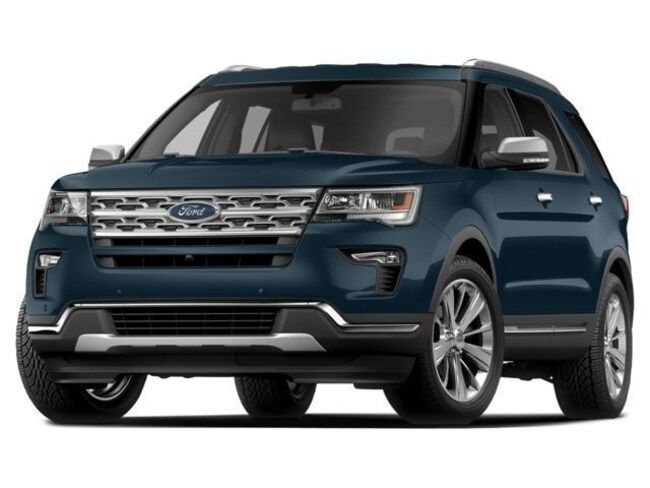 New 2018 Ford Explorer Base 4WD Sport Utility in Beverly, MA