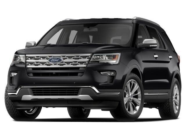 Certified 2018 Ford Explorer Sport SUV near Dallas