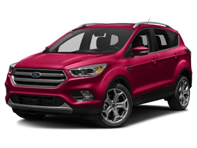 2018 Ford Escape Titanium SUV 1FMCU9J96JUD17502 for sale near Elyria, OH at Mike Bass Ford