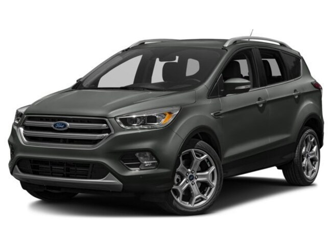 2018 Ford Escape Titanium SUV 1FMCU9J94JUD17501 for sale near Elyria, OH at Mike Bass Ford