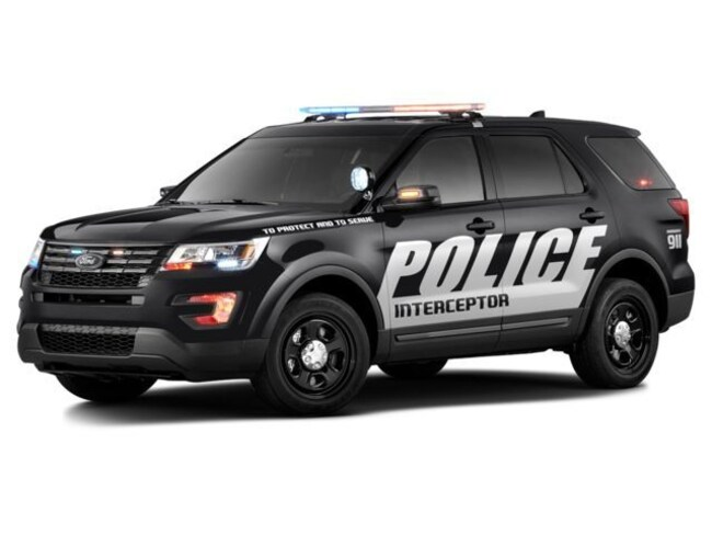 2018 Ford Police Interceptor Utility SUV