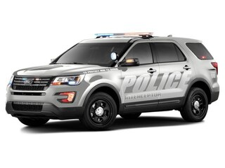 New 2018 Ford Utility Police Interceptor Base SUV San Antonio