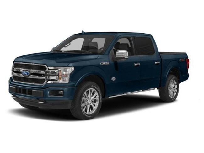 2018 Ford F-150 Lariat Crew Cab Short Bed Truck