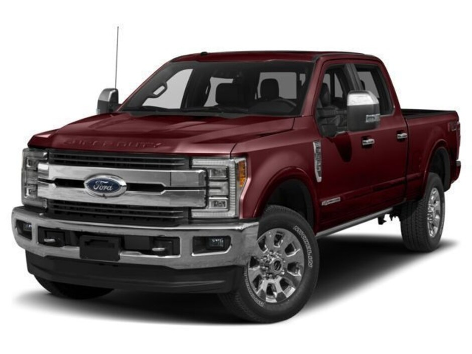 New 2018 Ford F-350 King Ranch Crew Cab Lamesa