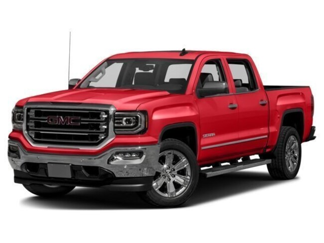 Used vehicle 2018 GMC Sierra 1500 SLT Truck Crew Cab for sale near you in Morrilton, AR