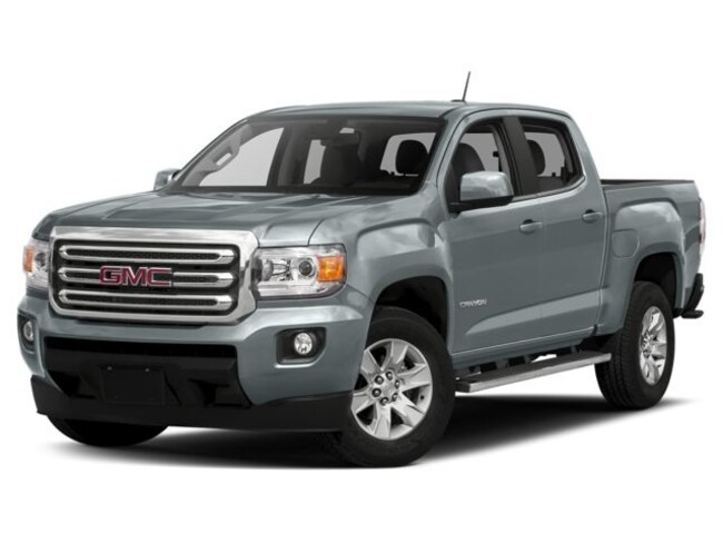 New 2018 GMC Canyon SLE Truck Crew Cab in Cathedral City
