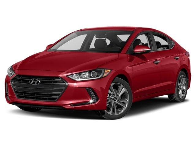 2018 Hyundai Elantra Limited w/SULEV A6 Sedan Scarlet Red