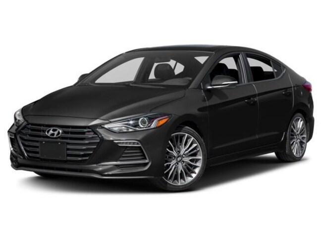 2018 Hyundai Elantra Sport w/ Premium Package Sedan