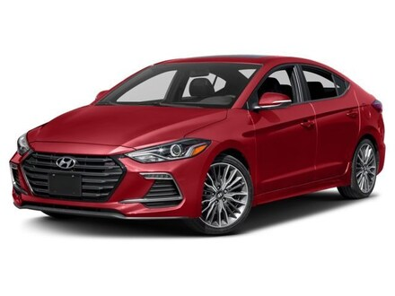 Featured Used 2018 Hyundai Elantra Sport Sedan KMHD04LB4JU450570 for sale near you in Peoria, AZ