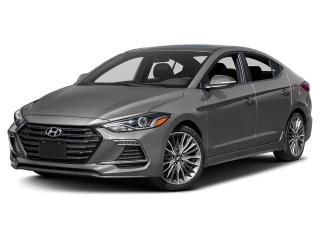 2018 Hyundai Elantra Sport Premium Package Sedan