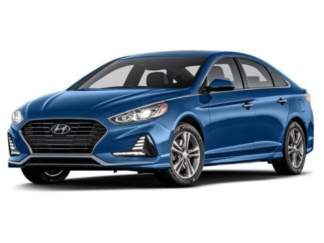 New Hyundai vehicle 2018 Hyundai Sonata SEL+ w/SULEV Sedan 5NPE34AF8JH719413 for sale near you in Phoenix, AZ