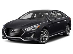 2018 Hyundai Sonata Hybrid Limited w/Emerald Blue Interior Sedan