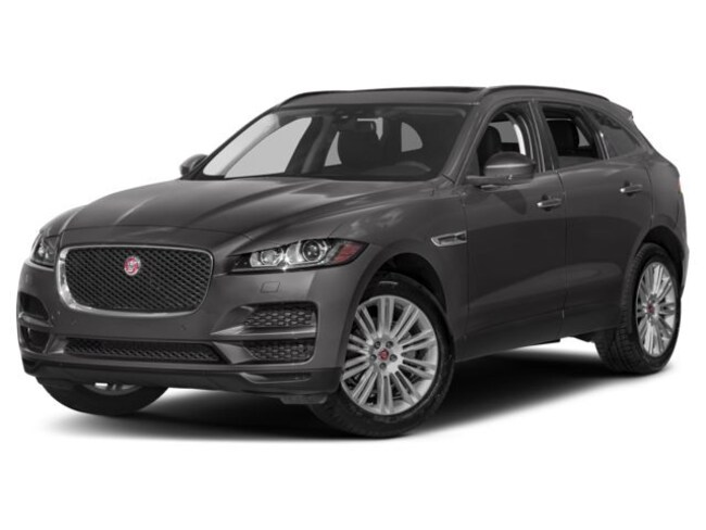 New 2018 Jaguar F-PACE Premium SUV For Sale Near Boston Massachusetts