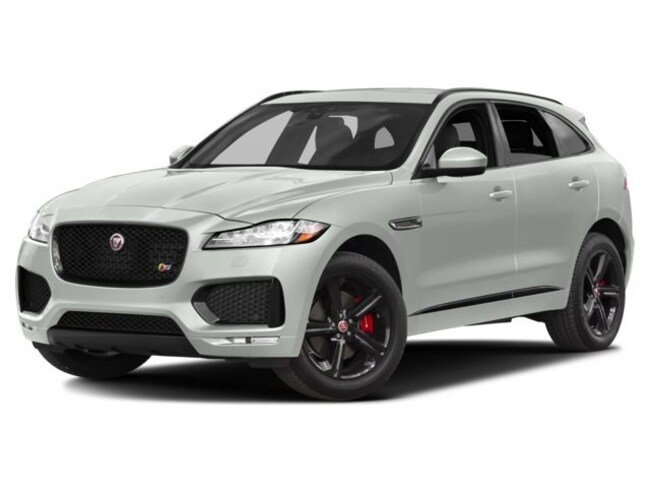 2018 Jaguar F-PACE S SUV