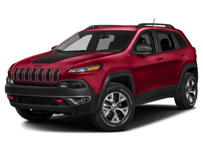 New Vehicles  2018 Jeep Cherokee Trailhawk 4x4 SUV for sale in Espanola