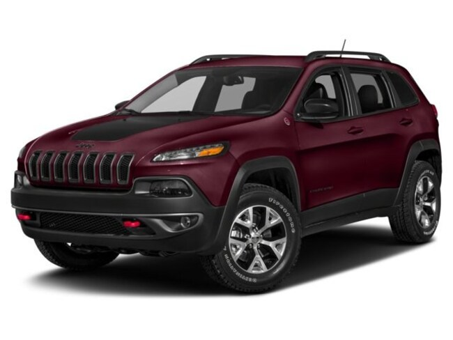 New 2018 Jeep Cherokee Trailhawk 4x4 SUV for sale in Clearfield, PA