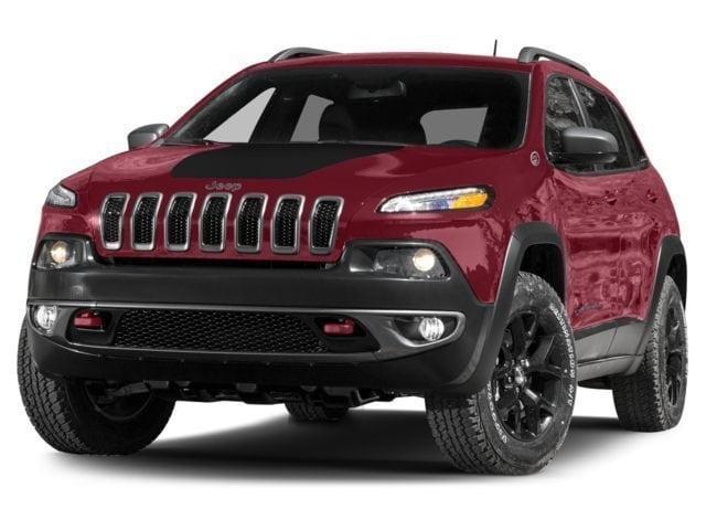 New 2018 Jeep Cherokee Trailhawk 4x4 SUV in Antigo