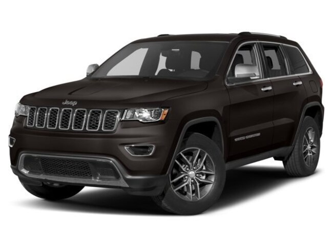 New 2018 Jeep Grand Cherokee LIMITED 4X4 Sport Utility North Kinigstown