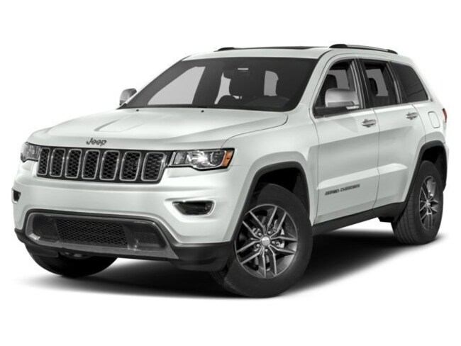 New 2018 Jeep Grand Cherokee LIMITED 4X4 Sport Utility Burlingame