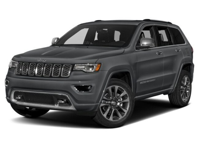 New 2018 Jeep Grand Cherokee Overland 4x4 SUV near Rochester