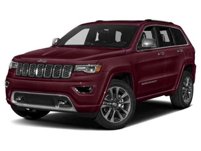 2018 Jeep Grand Cherokee Overland High Altitude 4x4 Sport Utility
