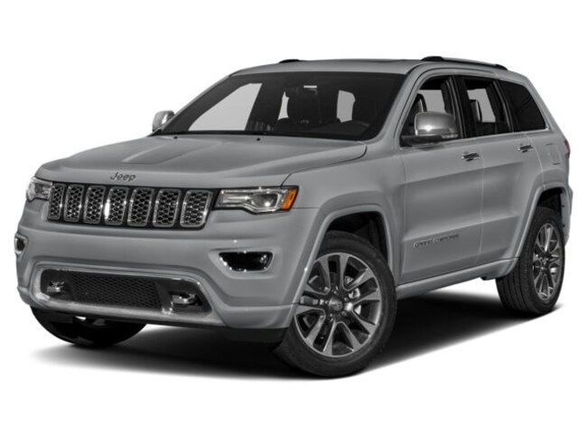 New 2018 Jeep Grand Cherokee Overland 4x4 SUV for sale in Chantilly