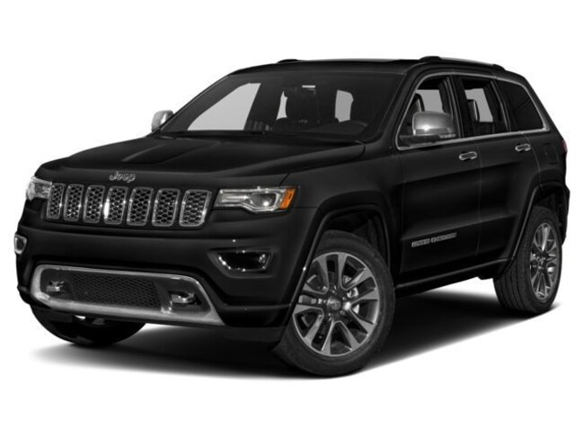 New 2018 Jeep Grand Cherokee Overland 4x4 SUV in Warwick