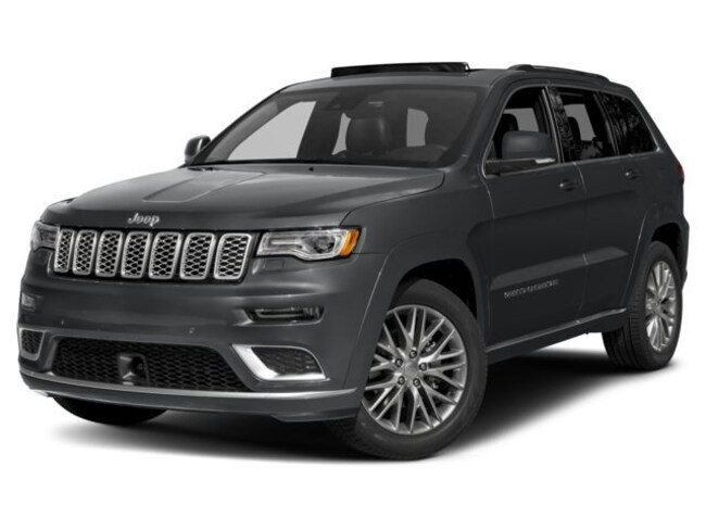 New 2018 Jeep Grand Cherokee SUMMIT 4X4 Sport Utility Burlingame