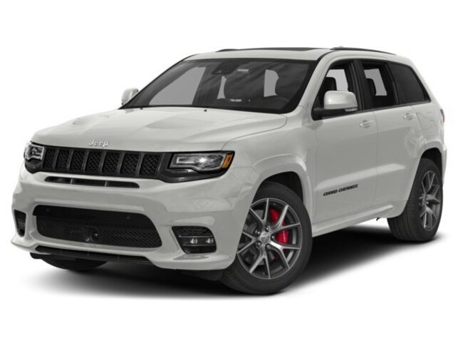 New 2018 Jeep Grand Cherokee Trackhawk 4x4 SUV in Decatur, IL