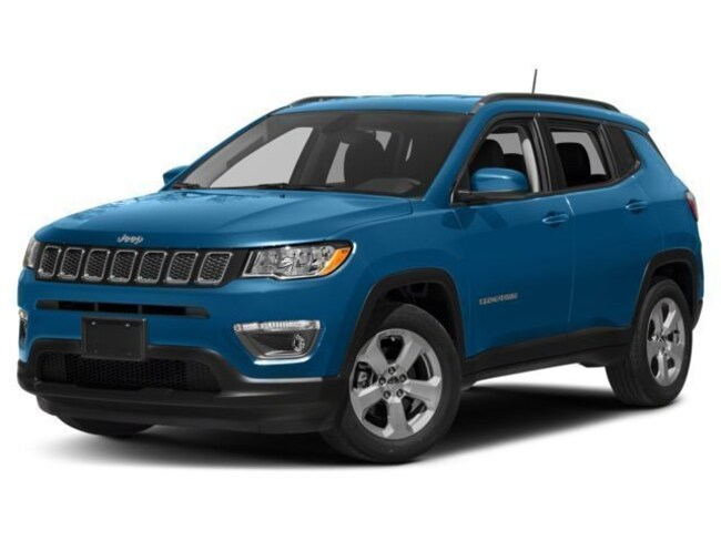 Used 2018 Jeep Compass Latitude 4x4 SUV in Lynchburg, Virginia