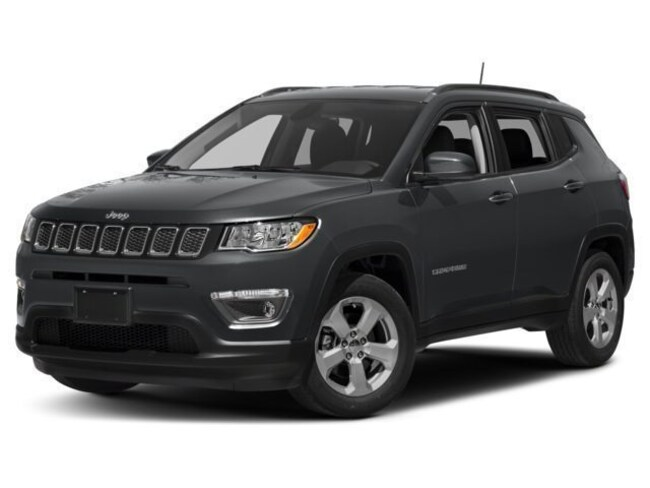 New 2018 Jeep Compass LIMITED 4X4 Sport Utility Burlingame