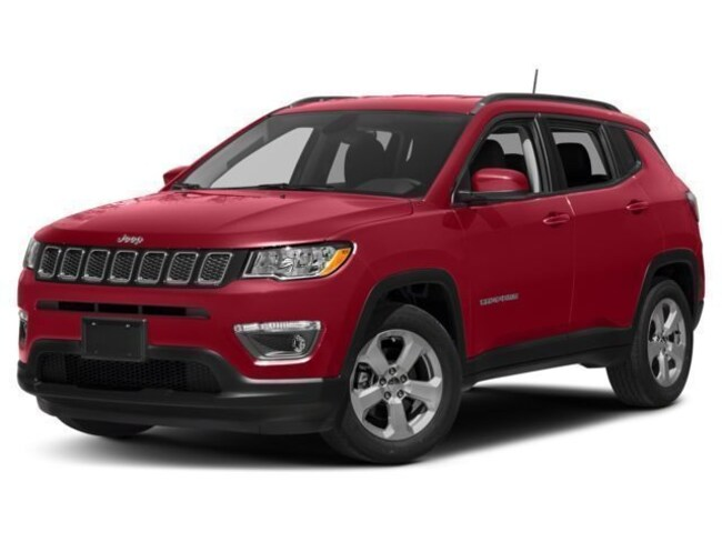 New 2018 Jeep Compass LIMITED 4X4 Sport Utility Roseville