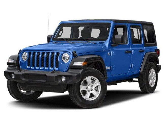 New 2018 Jeep Wrangler UNLIMITED SAHARA 4X4 Sport Utility