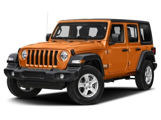New 2018 Jeep Wrangler UNLIMITED SAHARA 4X4 Sport Utility in Harlingen