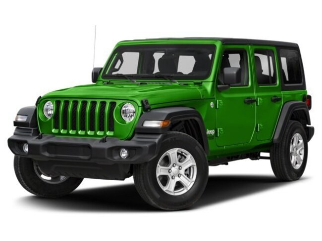 New 2018 Jeep Wrangler UNLIMITED SAHARA 4X4 Sport Utility in Lynchburg