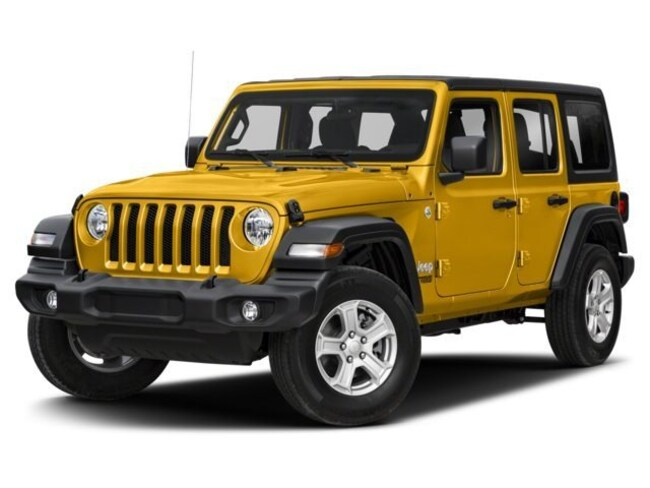 New 2018 Jeep Wrangler UNLIMITED SAHARA 4X4 Sport Utility Grand Rapids