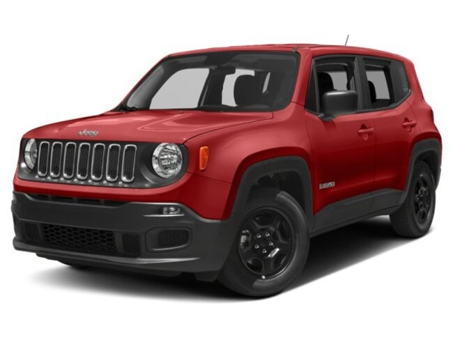 New 2018 Jeep Renegade LATITUDE 4X2 Sport Utility For Sale Burlington, Wisconsin