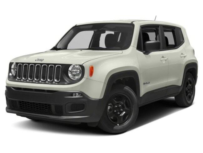 New 2018 Jeep Renegade Latitude FWD SUV