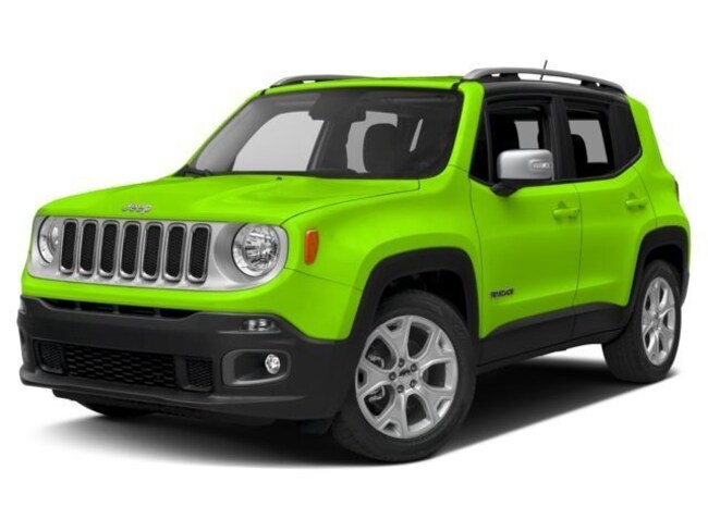New 2018 Jeep Renegade LIMITED 4X2 Sport Utility Irving TX